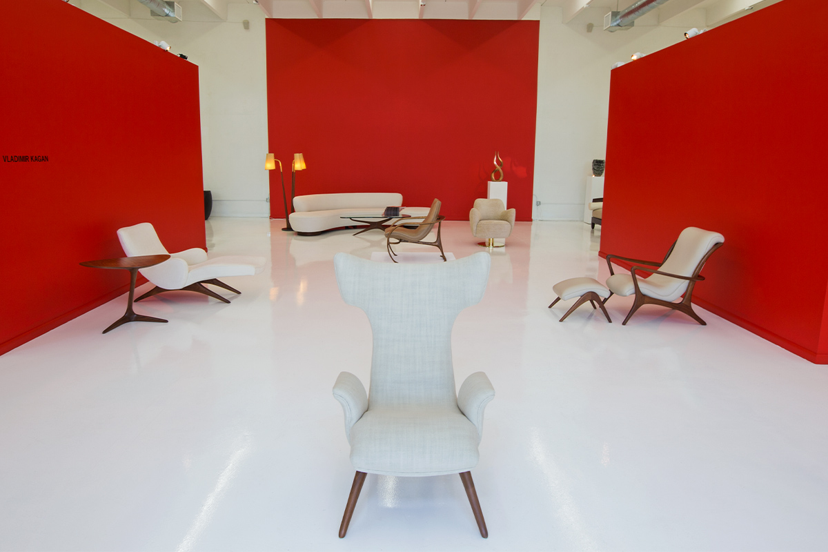 Miami Showroom April 2015 - Vladimir Kagan - Rebecca Moses