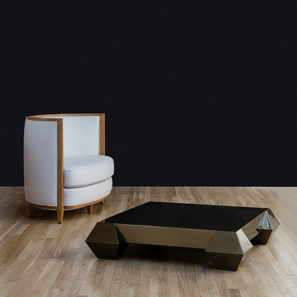 Andree Putman - Crescent Moon Club Chair