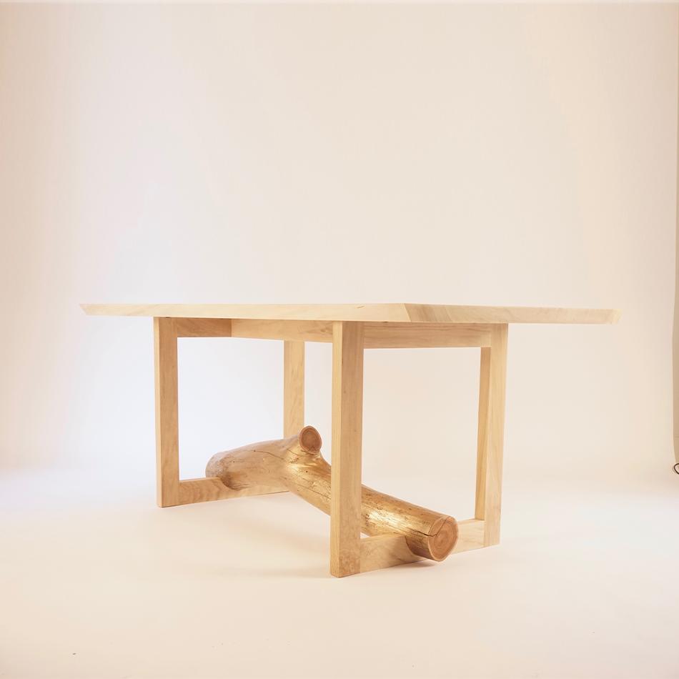 Chris Lehrecke / Gabriella Kiss - Gilded Elm Branch Dining Table