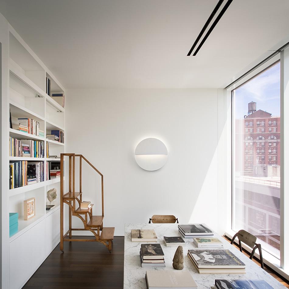 Richard Meier- Cycladic Circle Sconce