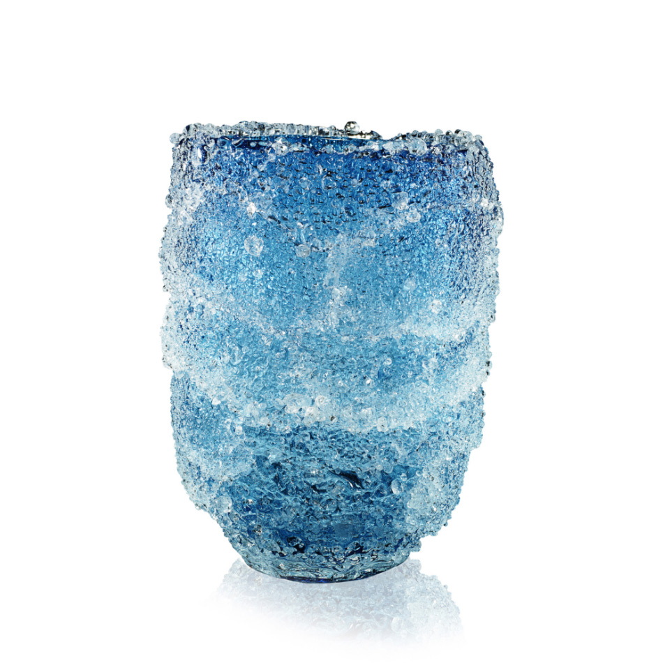 Fabio Maria Micucci - Murano Blown Glass - Aquamarine