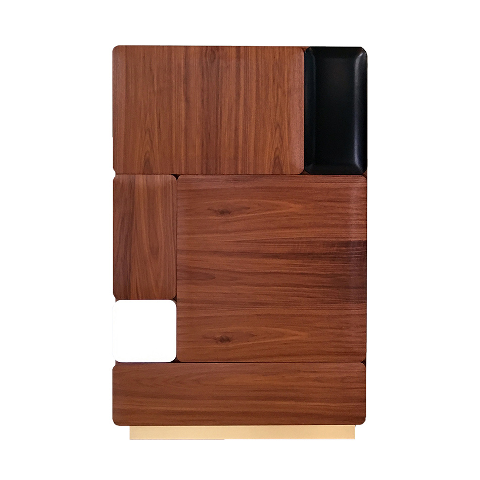 India Mahdavi - Armoire Bluff Hardy