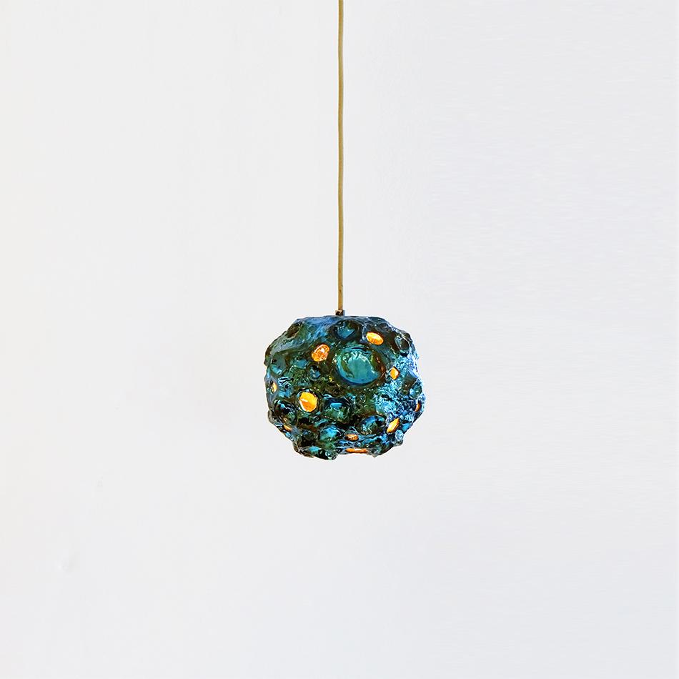 Julia Kunin - Luster Blue Moon Lamp