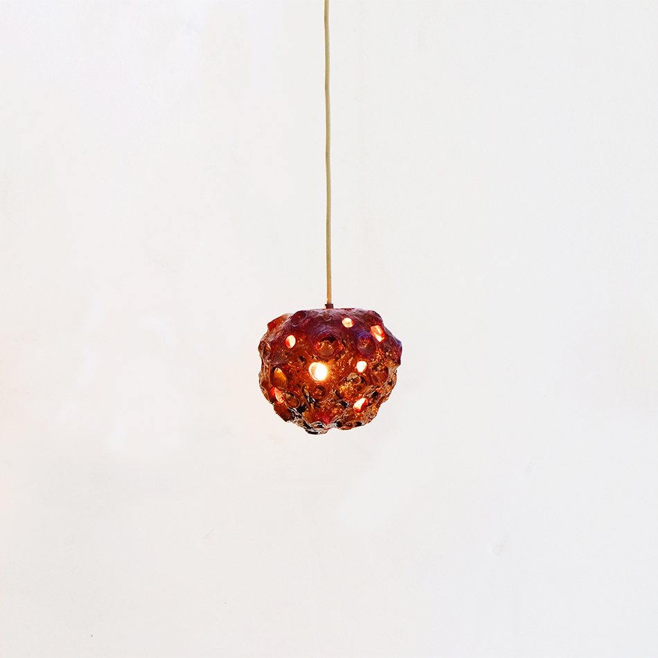 Julia Kunin - Luster Copper Moon Lamp
