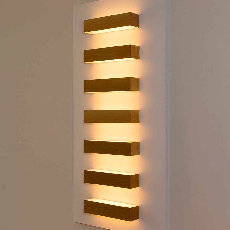 John Wigmore - Light Sculptures #48