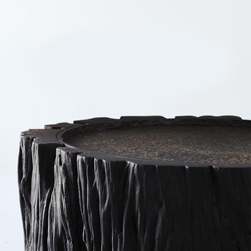 Jerome Abel Seguin - Wood and Iron Stool