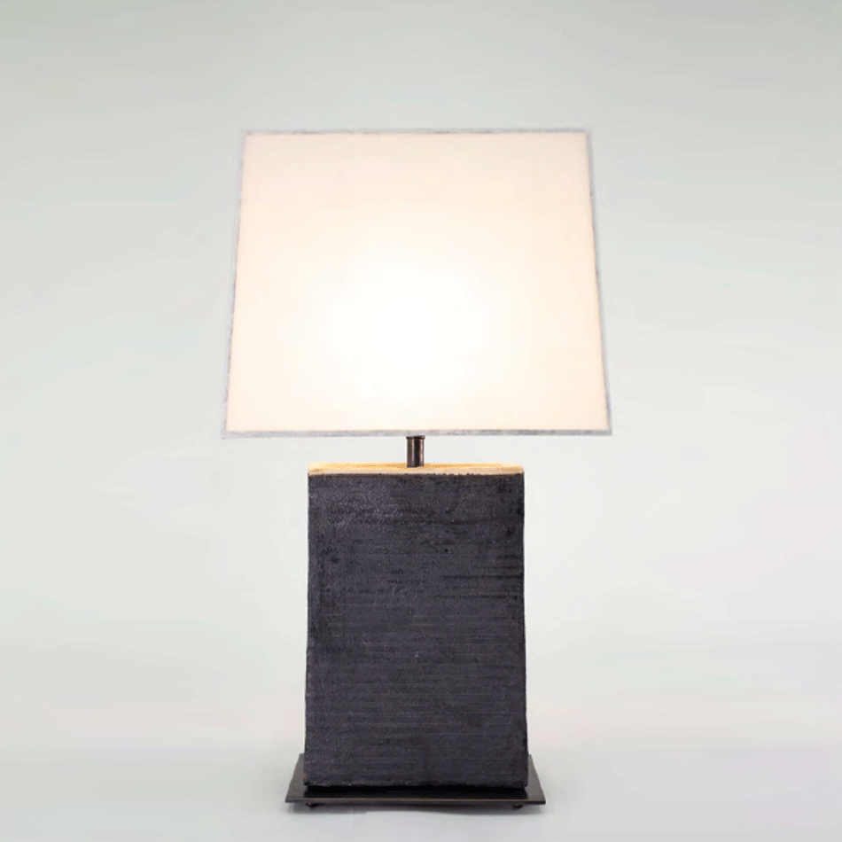 John Wigmore - Rectangular Table Lamp TL003