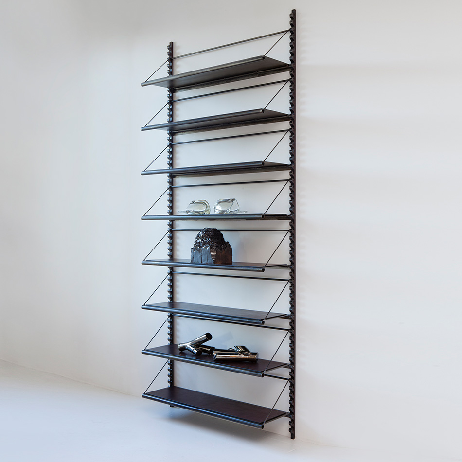 Jim Zivic - Steel Library Brackets and Shelving System