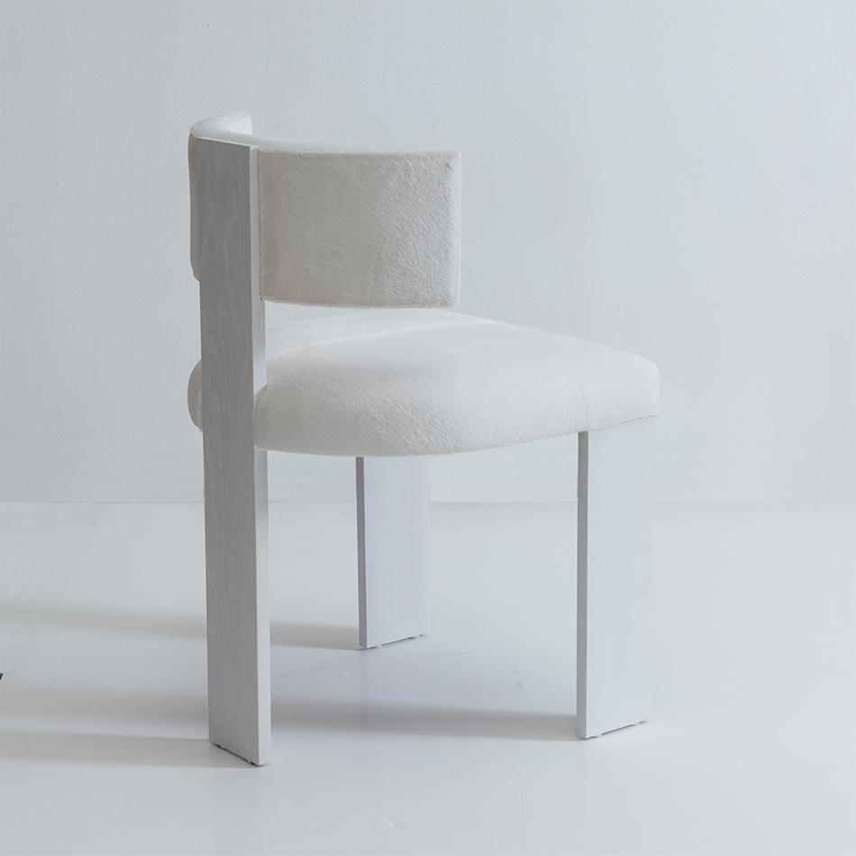 Nina Seirafi - Gary Dining Chair, White