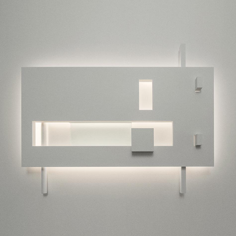 Richard Meier Light - Barcelona I Sconce