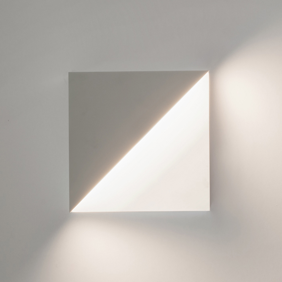 Richard Meier Light - Cycladic Square Sconce