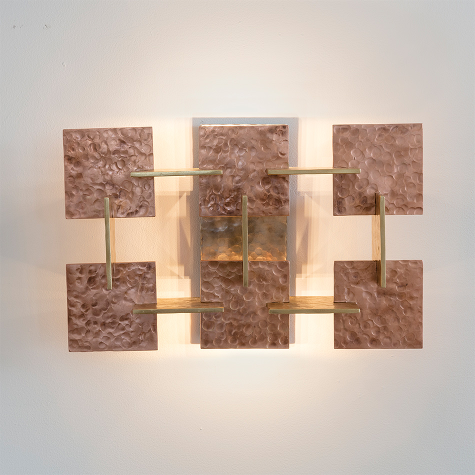 Fran Taubman - Suprematism Wall Sculpture S4