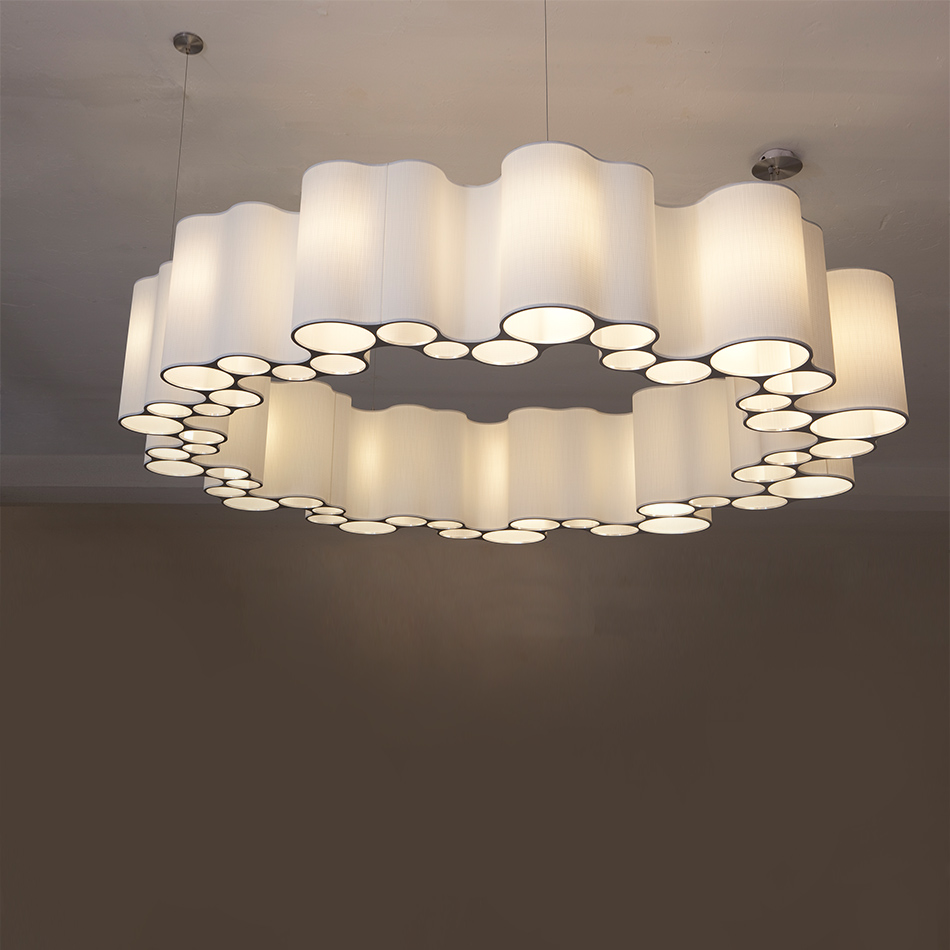 Ted Abramczyk - Tapered Cumulus - Ceiling Lighting