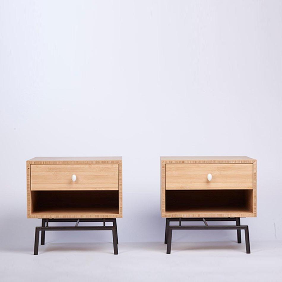 Chris Lehrecke - Bamboo Bedside Tables