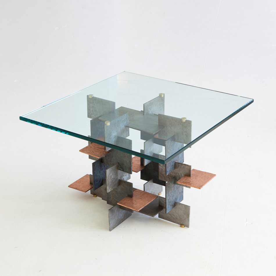 Fran Taubman - Multi Material Plate Side Table