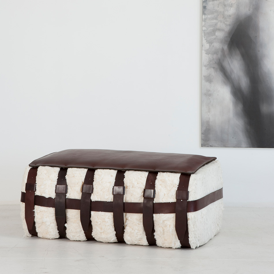 Jim Zivic - Organic Cotton Bale Bench
