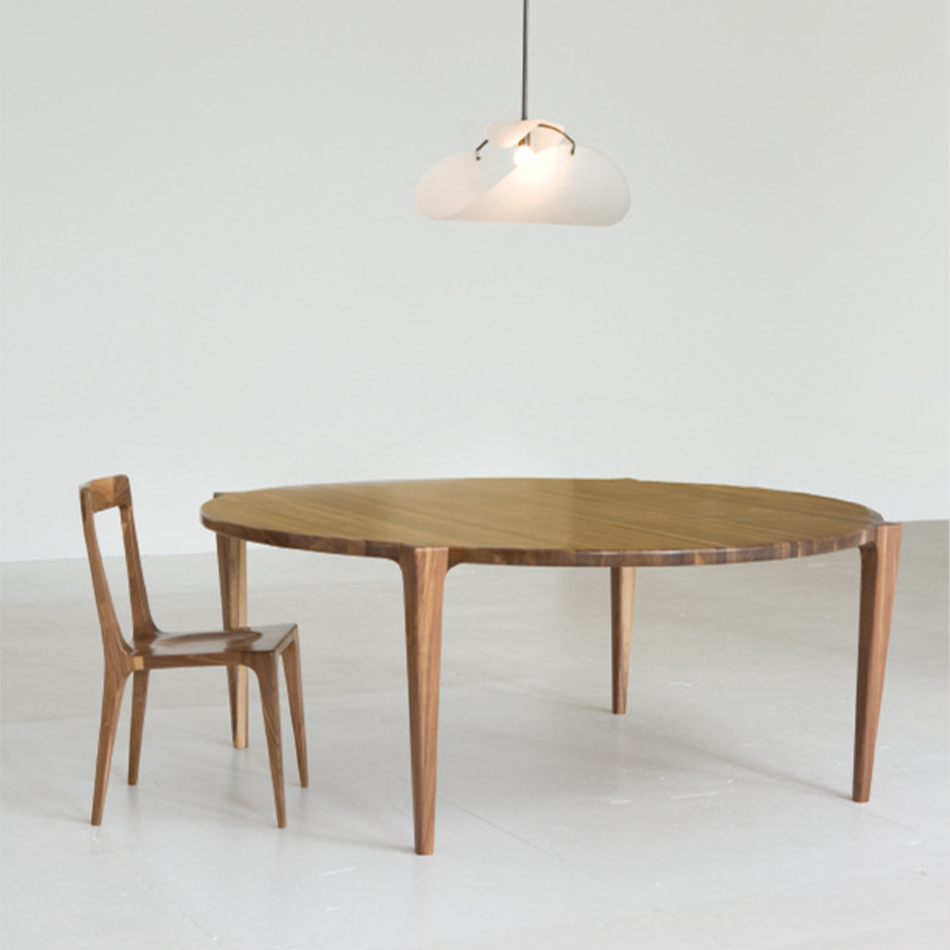 Kevin Walz - Round Dining Table Pull Up Chair