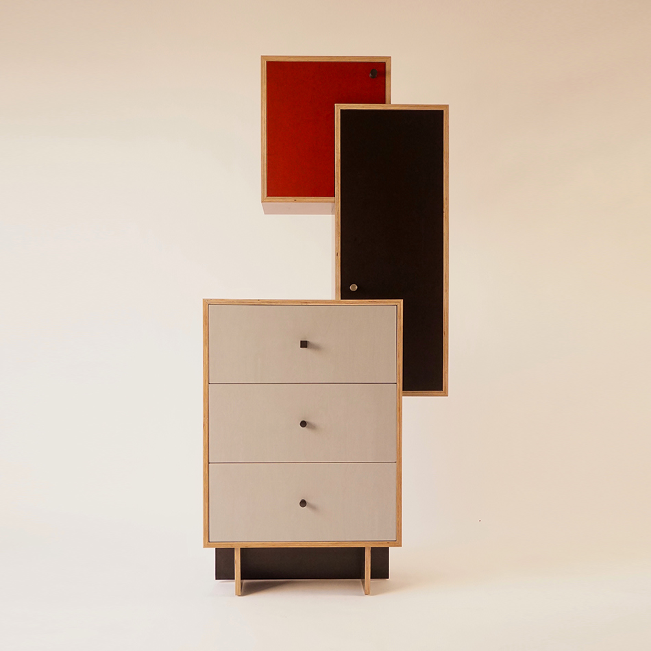 Chris Lehrecke - Weimar Tall Cabinet