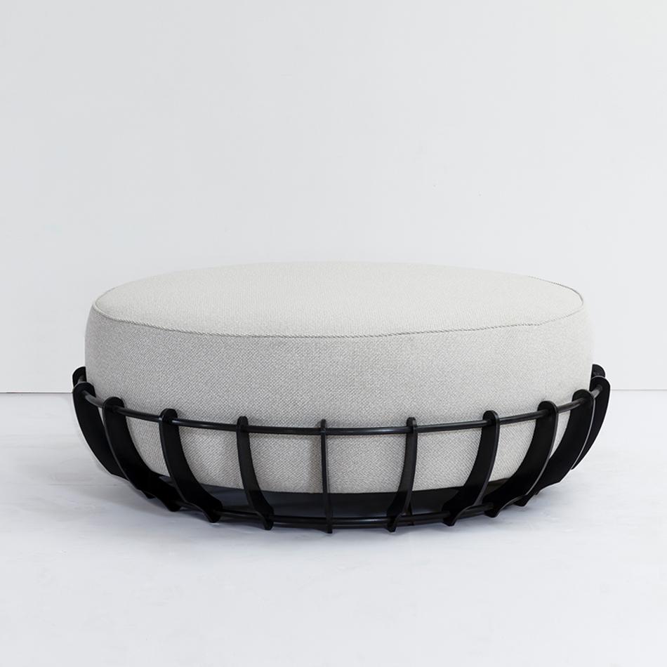 Fran Taubman - Round Ottoman