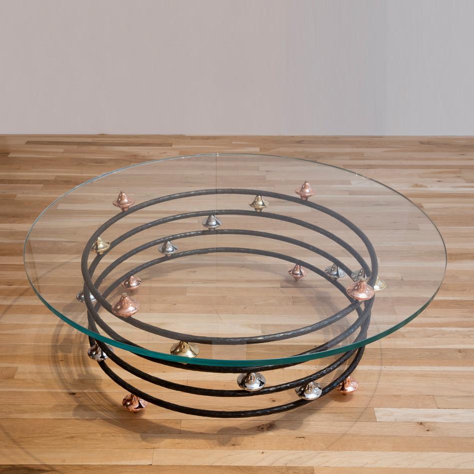 Fran Taubman - Round Coffee Table