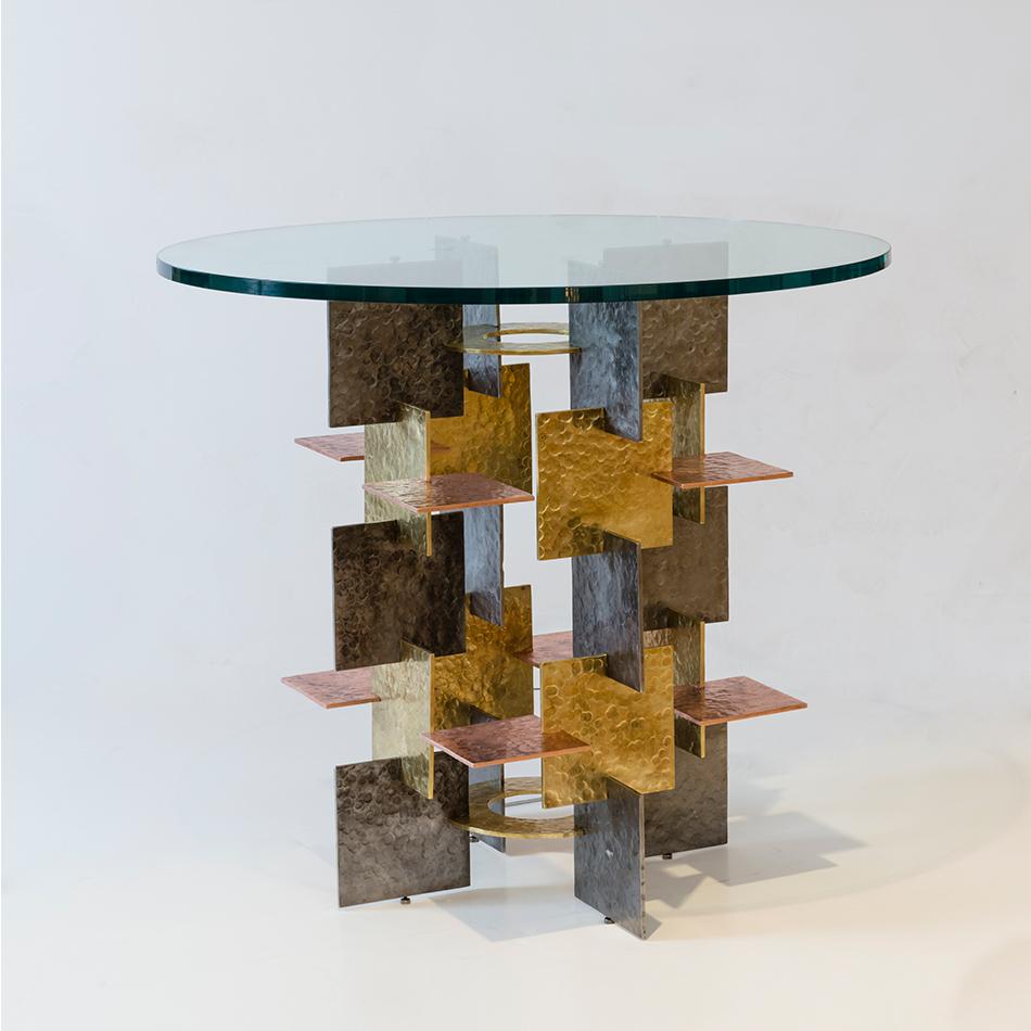 Fran Taubman - Plate Hall Table