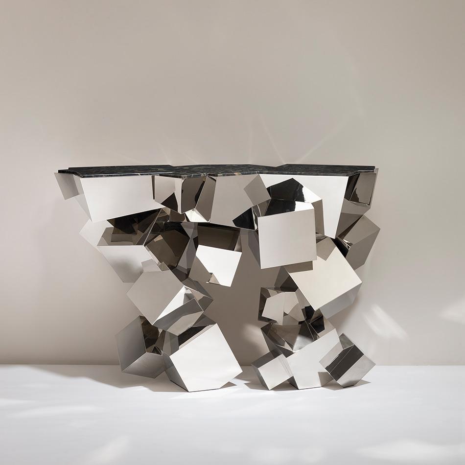 Herve Van der Straeten - Console Cristalloide