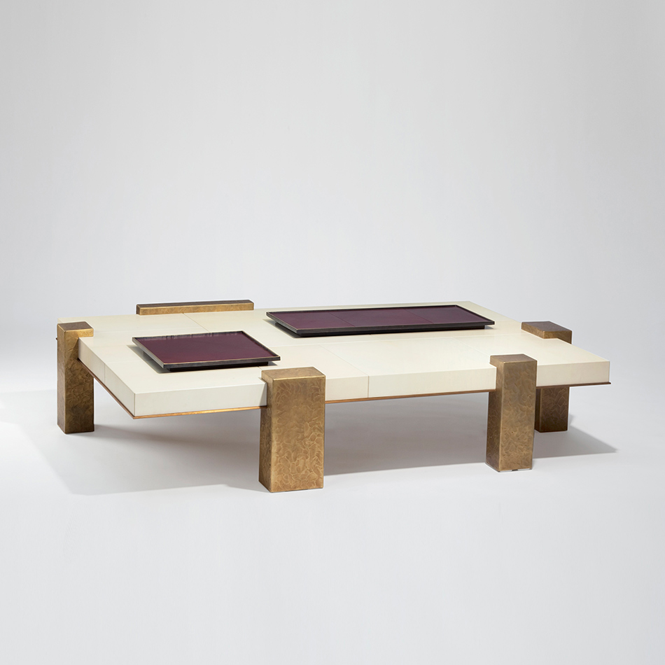 Herve Van der Straeten - Table Basse Poulain 180
