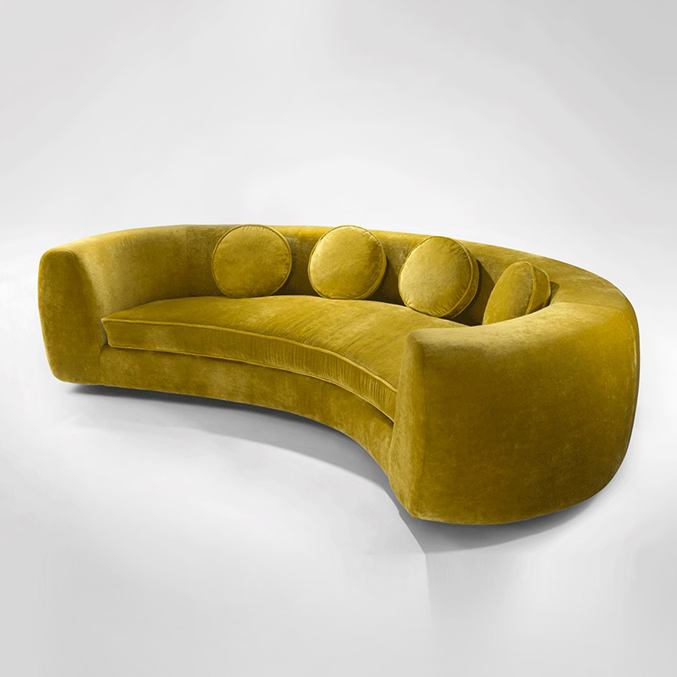 India Mahdavi - Jelly Pea Sofa