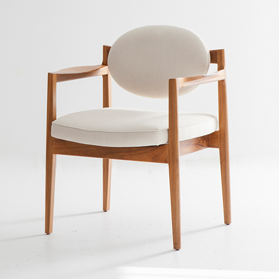 Jens Risom - Oval Back Chair