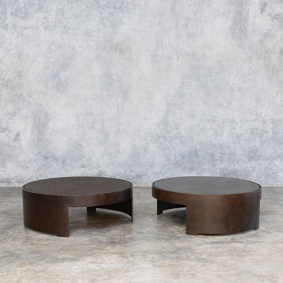 Jerome Abel Seguin - Pipa Round Coffee Tables