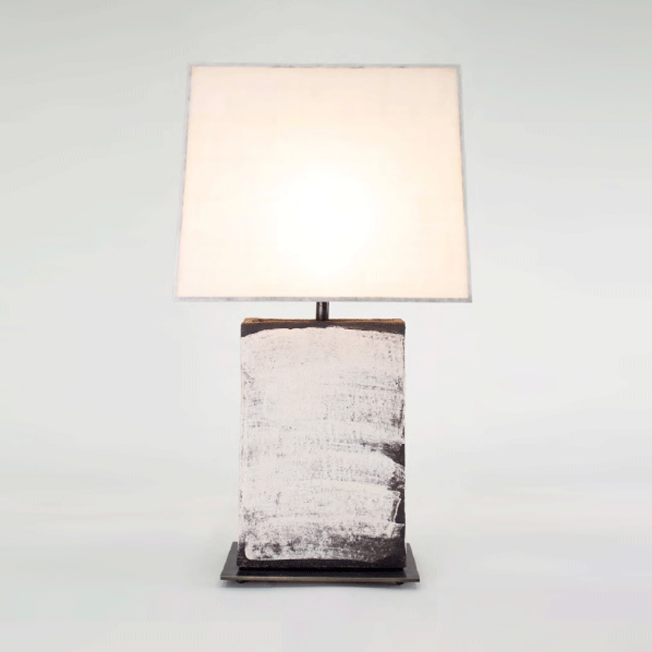 John Wigmore - Rectangular Table Lamp TL007