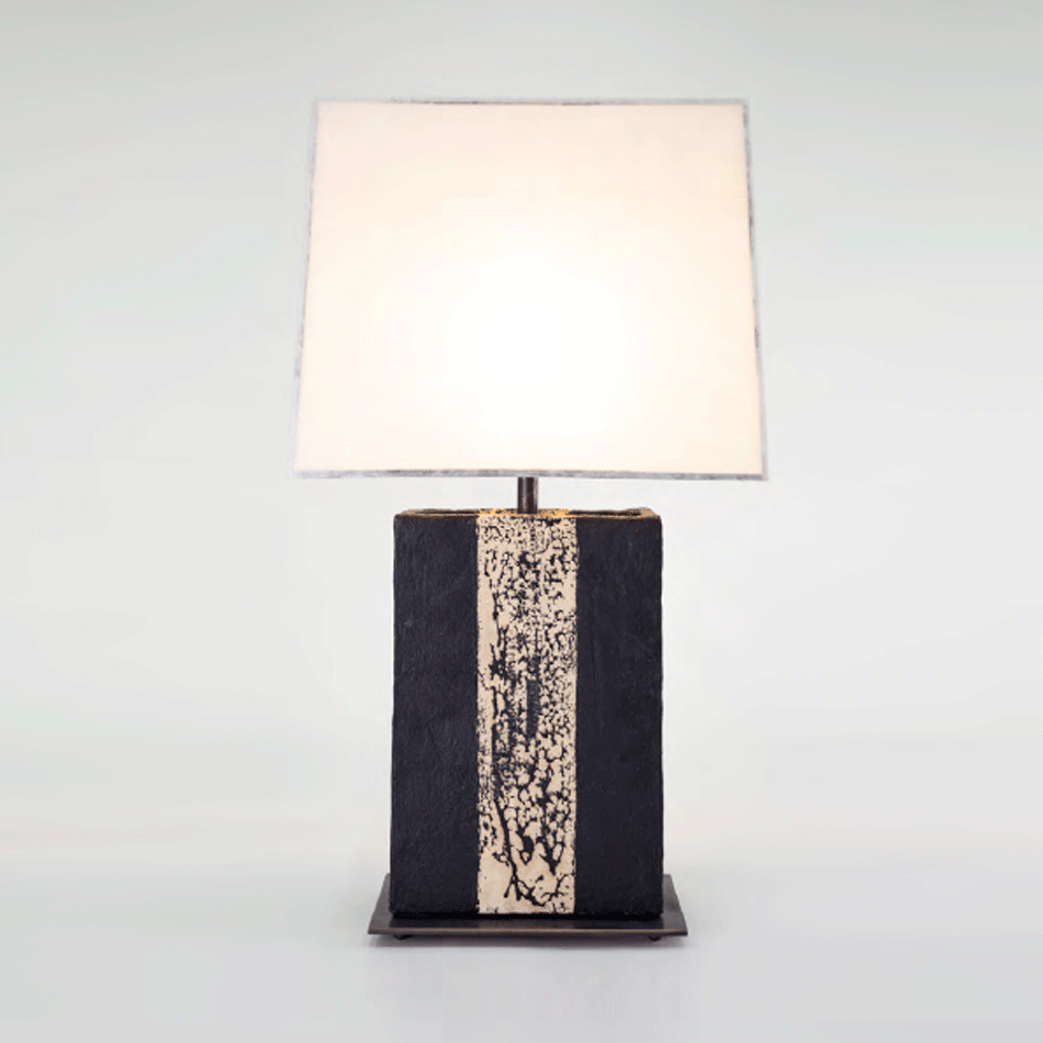 John Wigmore - Rectangular Table Lamp TL008
