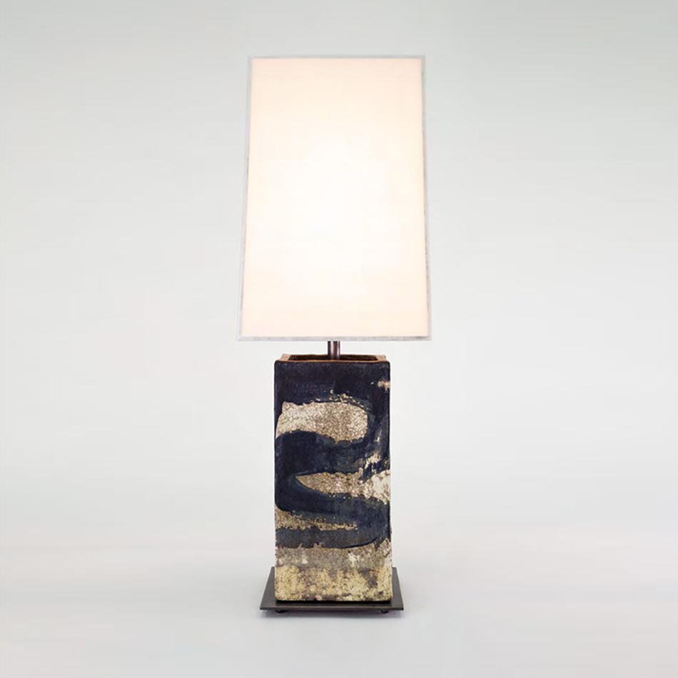 John Wigmore - Large Square Table Lamp