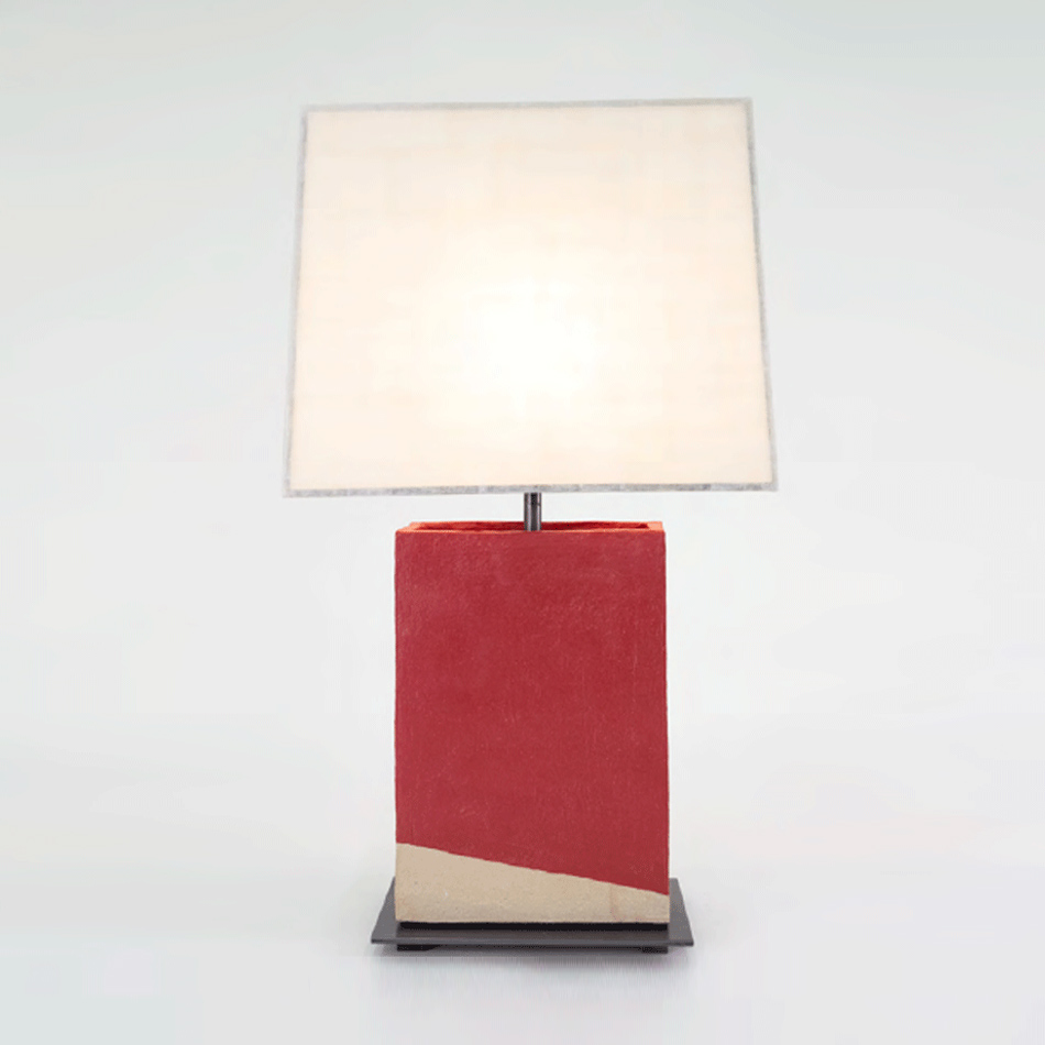 John Wigmore - Rectangular Table Lamp TL010