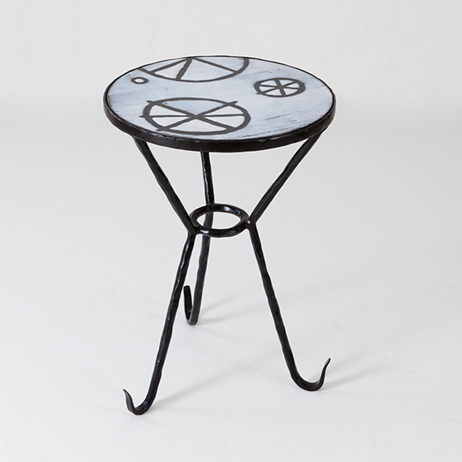 Elizabeth Garouste - Logique Side Table