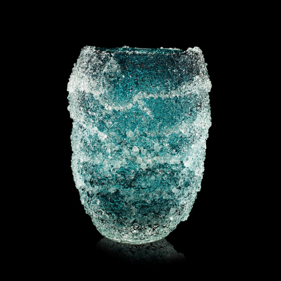 Fabio Maria Micucci - Murano Blown Glass - Emerald Green