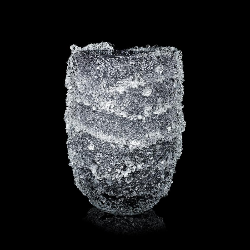 Fabio Maria Micucci - Murano Blown Glass - Silver