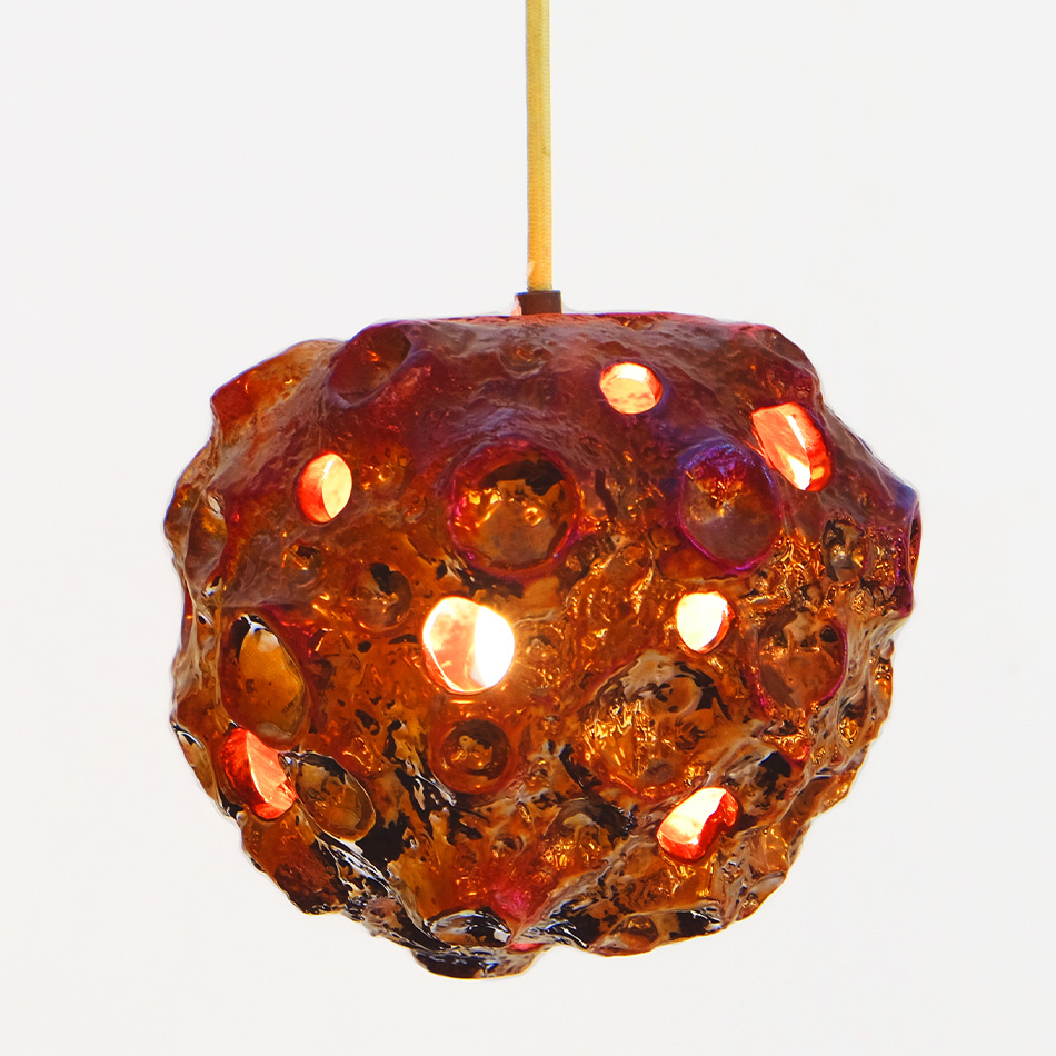 Julia Kunin - Luster Copper Moon Lamp