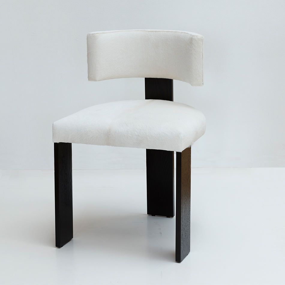 Nina Seirafi - Gary Dining Chair, Black