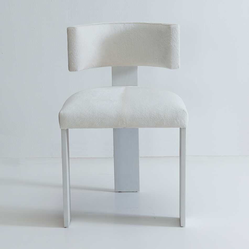 Nina Seirafi - Gary Dining Chair, White