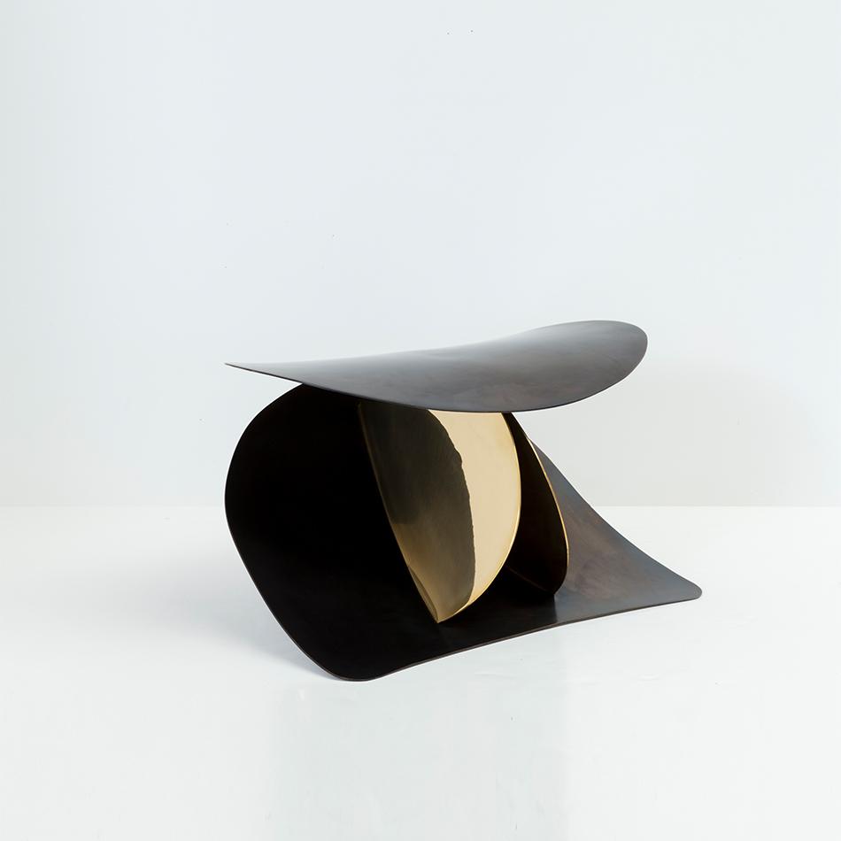 Nina Seirafi - Lale Stool, Bronze