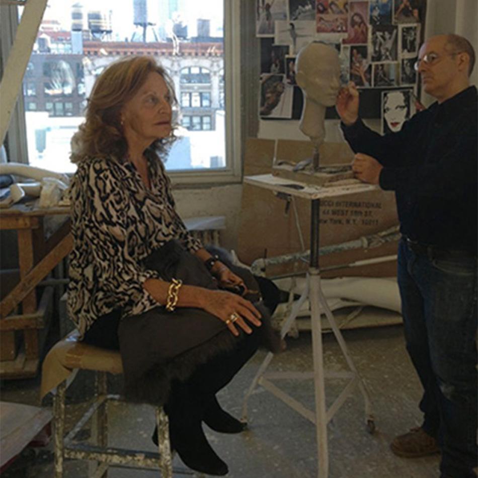 Portrait Commissions - Dianne Von Furstenberg