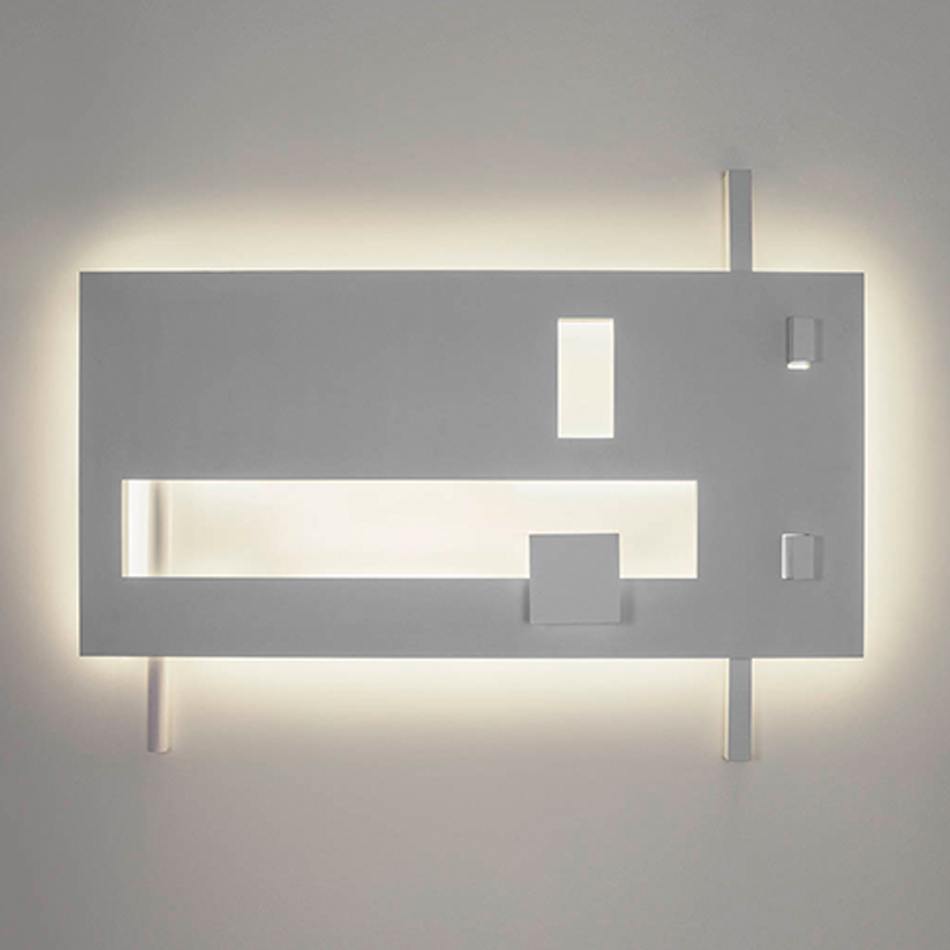 Richard Meier Light - Barcelona I Sconce