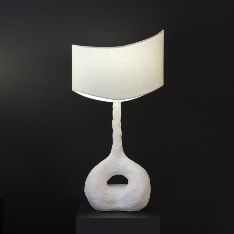 John Koga - Nalu (Ocean Wave) Table Lamp