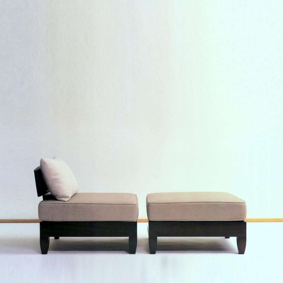 Chris Lehrecke - Classic Lounge Chair and Ottoman