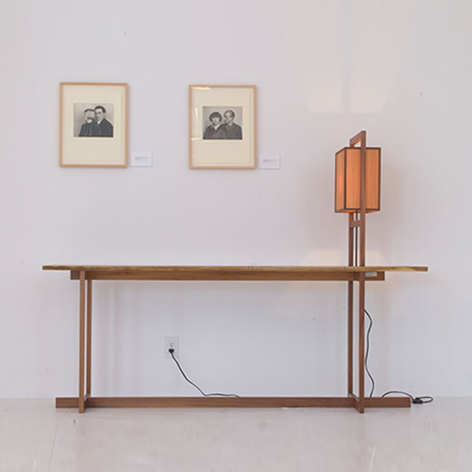 Chris Lehrecke - Grid Lamp / Console Table