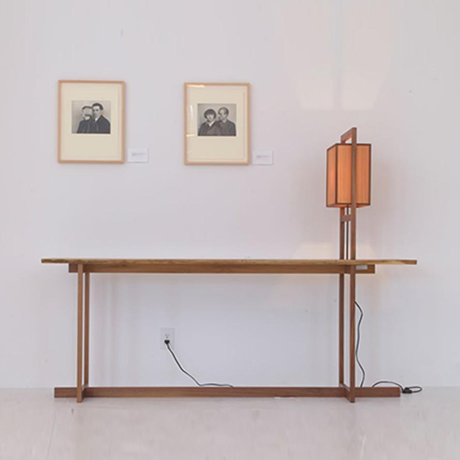 Chris Lehrecke - Grid Lamp / Console Table