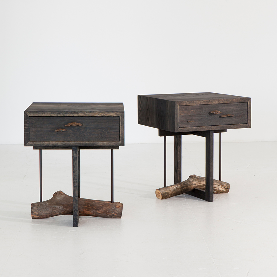 Chris Lehrecke - Elm branch side tables