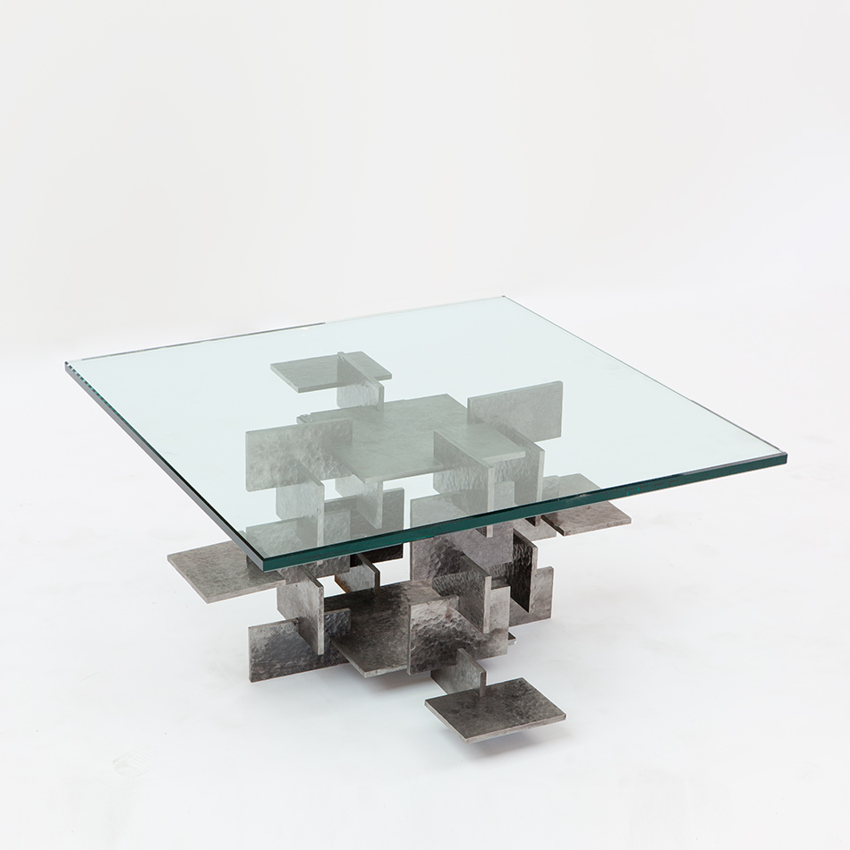 Fran Taubman - Steel Plate Coffee Table