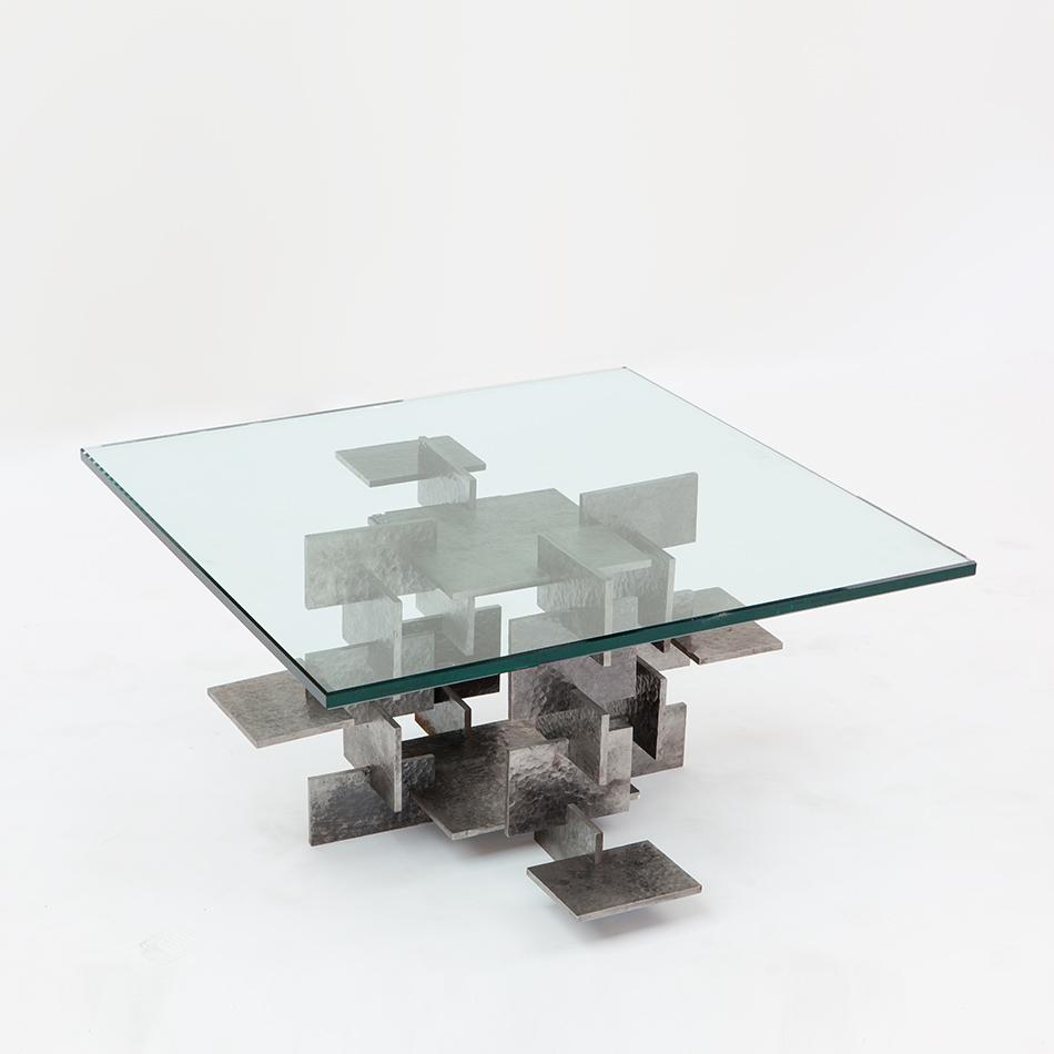 Fran Taubman - Steel Plate Coffee Table
